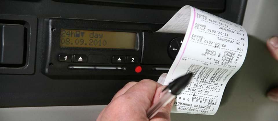 lettura stampata cronotachigrafo digitale